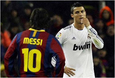 Messi-Ronaldo dans Mail à ...